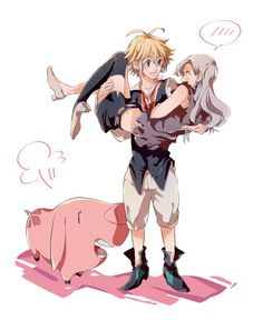 Shared by Ophelia Bliss. Find images and videos about Elizabeth, nanatsu no taizai and meliodas on We Heart It - the app to get lost in what you love. Elizabeth Seven Deadly Sins, Seven Deadly Sins Anime, 7 Deadly Sins, Meliodas And Elizabeth, Elizabeth Liones, Otaku Anime, Manga Anime, Me Me Me Anime, Anime Love