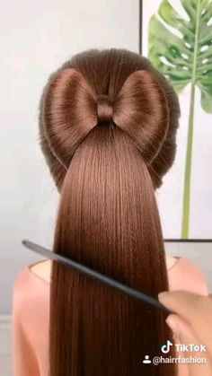 Easy Hairstyles For Long Hair, Braids For Long Hair, Up Hairstyles, Front Hair Styles, Medium Hair Styles, Natural Hair Styles, Hair Style Vedio, Hair Tutorials For Medium Hair, Hair Extensions For Short Hair
