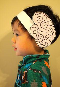 make a brain headband