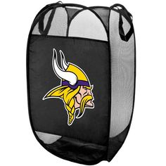 Minnesota Vikings Team Logo Laundry Hamper 7d26991f6