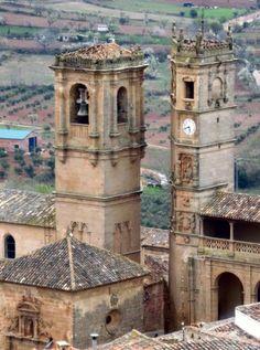 Torres de la Trinidad y el Tardón en Alcaraz #Albacete