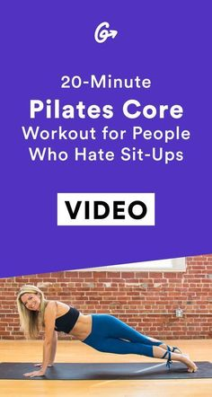 You'll thank us later. #greatist http://greatist.com/move/pilates-workout-20-minute-sequence-for-a-strong-core #PilatesAnyone?