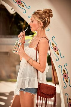 How to rock a babydoll by day. | Victoria's Secret