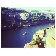 Vista da Ponte D.Luis, tabuleiro de cima