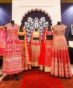 By designer Anita Dongre. Bridelan- Personal shopper & style consultants for Indian/NRI weddings, website www.bridelan.com #Bridelan #weddinglehenga #AnitaDongre #AnitaDongreweddinglehenga