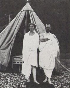 "romanovfamily: "" Tsar Nicholas II With His Sister Olga Alexandrovna After A Swim """