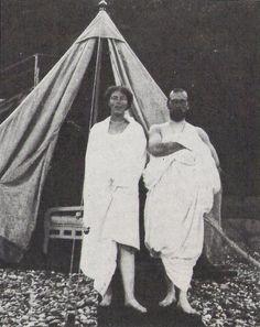 "romanovfamily: "" Tsar Nicholas II With His Sister Olga Alexandrovna After A Swim """