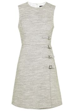 Buckle Detail Shift Dress - Topshop