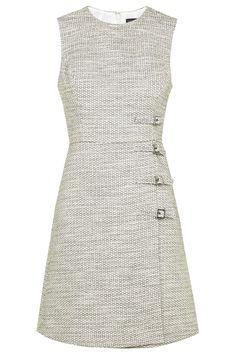 Buckle Detail Shift Dress - Dresses - Clothing - Topshop