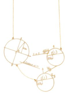 Because fashionable girls are smart, too. Cute and Astute Necklace | Mod Retro Vintage Necklaces | ModCloth.com.