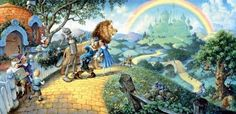 The Wizard of Oz SunsOut 1000 Piece Jigsaw Puzzle by Artist Scott Gustafson, $16.50
