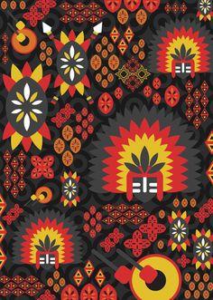 A patterned illustrations of Philippine Festivals. Masskara Festival, Sinulog Festival, Tribal Pattern Art, Don Papa, Cultural Patterns, Filipino Art, Philippine Art, Tribal Costume, Philippines Culture