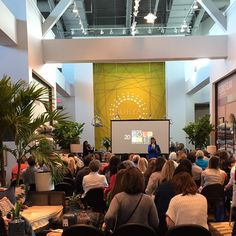 Another successful Color Mix event with @SherwinWilliams in Surya's showroom at @HighPointMarket!