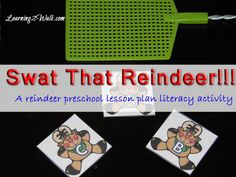 PRESCHOOL LESSON PLAN SMACK THAT REINDEER