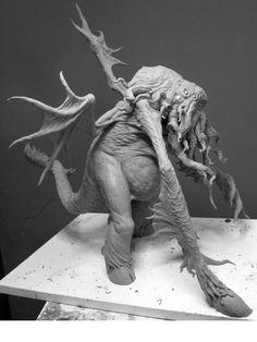 Sculptures - Cthulhu Figure | Joel Harlowe