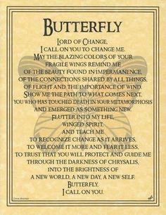 Butterfly - Lady Adrienne's Cauldron