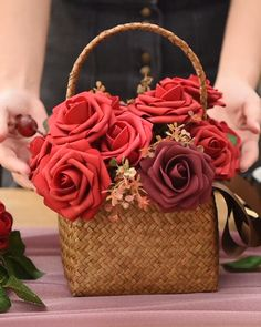 Beautiful for wedding! Find 2020 spring colors artificial roses, Off Beautiful for wedding! Find 2020 spring colors artificial roses, Off. Paper Flowers Diy, Flower Crafts, Fabric Flowers, Paper Flowers For Wedding, Handmade Flowers, Diy Wedding Decorations, Flower Decorations, Wedding Centerpieces, Deco Buffet