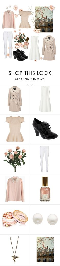 """""""Lissa- Weekend In Paris"""" by kyara112 ❤ liked on Polyvore featuring Forever New, Uniqlo, Oasis, Mother, Lace & Beads, Dr. Vranjes, Reeds Jewelers, Dorothy Perkins, Pier 1 Imports and Spring"""