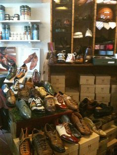 Italian Shoes - terrific little shop in Pienza, Italy.  Nothing under a couple hundred bucks though.