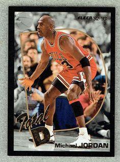 77947da1d5a 1992-93 FLEER TOTAL D #5 MICHAEL JORDAN #MichaelJordan #SportsCards #Collect