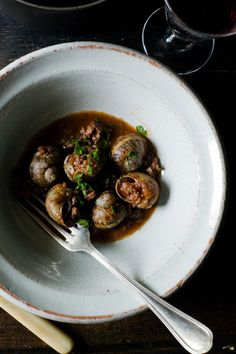 Snail Recipes from Manger