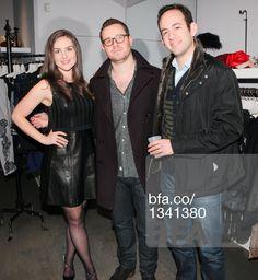 Devin VanderMaas, Zach Baum, Vadim Zhitomrasky at Fashion night out with STELLA & JAMIE & JESSICA PIMENTEL from Orange is the New Black. #BFAnyc #Foravi #StellaAndJamie #ZachBaum #VadimZhitomrasky #DevinVanderMaas