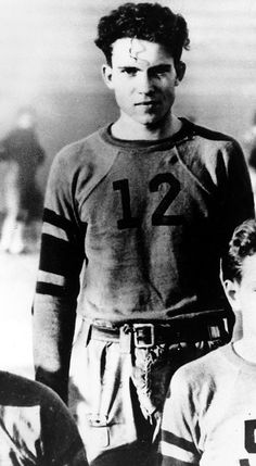 Long before he was our nation's 37th president, Richard Nixon played football, basketball and ran track at Whittier College.