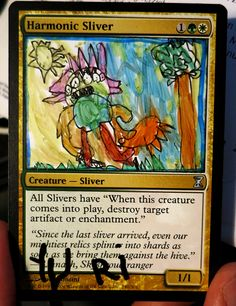 The submissions are in, and it's time for you to vote: Which new Sliver alters do you like the most? mtg magic the gathering alters