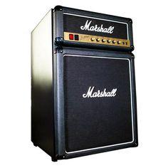 Le frigo pour les musicos ! Réfrigérateur en forme d'enceinte Marshall A la mémoire de Jim Marshall Parfait pour les bières pendant les répéts