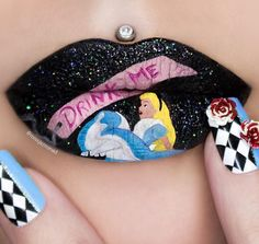 alice lips and nails
