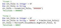 VBpuntoNet: Agregar ceros a la izquierda de una cantidad