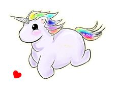 i love fat unicorns