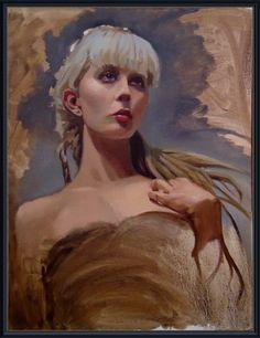 "Saatchi Art Artist Michael Foulkrod; Painting, ""sue"" #art"