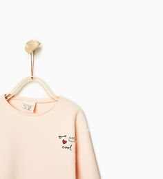 ZARA - KIDS - Plush sweatshirt