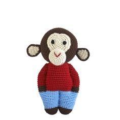 *NEW*  Midi Handmade Chimp - Choco | ella+elliot | Toronto | Vancouver | Canada | ellaandelliot.com