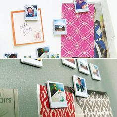 How adorable are these tiny Polaroid magnets?