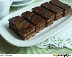 Řezy Bohemia Czech Recipes, Ethnic Recipes, Nutella, Baked Goods, Tiramisu, Ale, Deserts, Treats, Baking