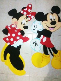 Minnie y Mickey fomi