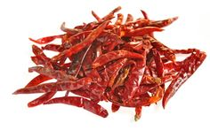 Kashmiri chilli is grounded to fine powder; these types of chillies give out pungent taste, nice color to the dishes and are mild in heat suitable for any Indian cuisine.