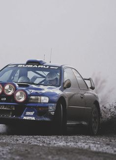 A Subaru doing what it does best!