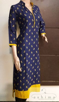 Code:0807171 - Price INR:1190/- , Printed Rayon Kurti. Salwar Neck Patterns, Salwar Neck Designs, Churidar Designs, Kurta Neck Design, Kurta Designs Women, Dress Neck Designs, Blouse Designs, Kaftan, Kurtha Designs