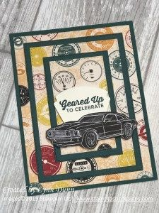 Geared Up Garage - Gemusterte Papier-Triple-Layer-Karte Geared Up Garage - Patterned Paper Triple La Masculine Birthday Cards, Birthday Cards For Men, Handmade Birthday Cards, Masculine Cards, Male Birthday, Birthday Images, Birthday Quotes, Boy Cards, Men's Cards