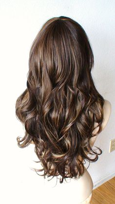 SUMMER SPECIAL Brown/Auburn / dirty blonde mix by kekeshop, $107.50 This is such a pretty and subtle blend.. and it looks more realistic because of the different colors.