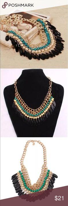 🎀BEAUTIFUL STONE STATEMENT NECKLACE🎀 🎀BEAUTIFUL STONE STATEMENT NECKLACE🎀 Jewelry Necklaces