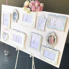 Keeping the guest seating frame pretty and personalized . Thank you to @stylish_events_decorations for creating this for Mia's 1st birthday . Planning / Styling @dianekhouryweddingsandevents #dkevents #seatingchart #guestnames #miaturnsone #luxuryplanner #french #partyplanner#girly