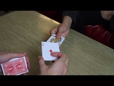 Two Card Monte - Tutorial Easy Magic Tricks, Card Tricks, Magic Cards, Playing Cards, Science, Magic Tricks, Playing Card Games, Science Comics, Game Cards