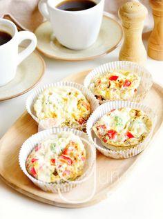 Vajíčkové quinoa muffiny so zeleninou Quinoa, Paleo, Eggs, Lunch, Cooking, Breakfast, Fitness, Kitchen, Morning Coffee
