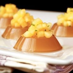 Pineapple Brandy Fix Jelly Shot is lovely for fall with a subtle brandy flavor, enhanced by pineapple and lime