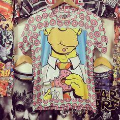 #NuevosModelos #remeras #fullprint #Homer #Simpson en @irarte y www.estampado.com.ar