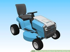 How to Stop Grass Buildup Under Any Lawn Mower Deck